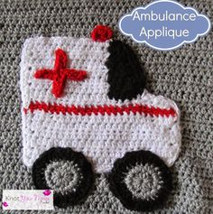Boys Will Be Boys Blanket Ambulance Applique