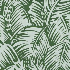 FEUILLAGE | Palm Pattern | Hermes Paris | Fashion Brand | Wallpaper Design | Fabric Pattern
