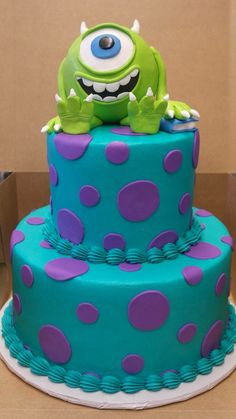 Monsters Inc Cake                                                                                                                                                     More