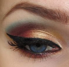 I used Sleek Sunset palette http://www.makeupgeek.com/idea-gallery/look/autumn-sunset-2/