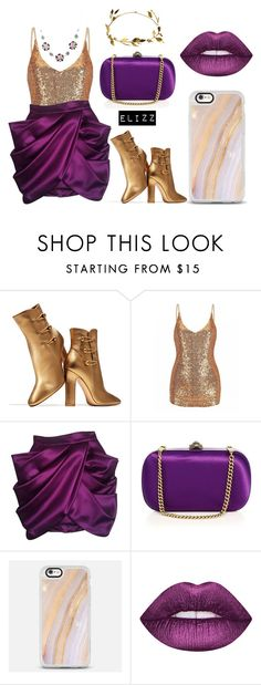 """""""Hidden In The Wing"""" by elizz-denne on Polyvore featuring Gianvito Rossi, Balmain, Gucci and Casetify"""