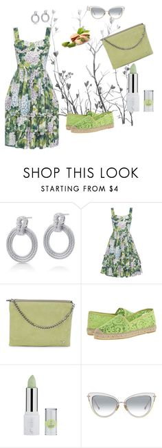 """""""Pistachio Green & Grey"""" by boutiquebrowser ❤ liked on Polyvore featuring Alor, Giambattista Valli, Halston Heritage and Vidorreta"""