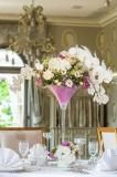 Romantic wedding at Chateau Mcely Designed by La Florista Wedding Flowers, Romantic, Table Decorations, Design, Projects, Romance Movies, Romantic Things, Dinner Table Decorations