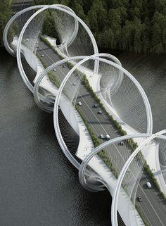 Олимпийский мост в Китае