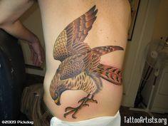 hawk tattoos | I LOVE THIS!!!!!