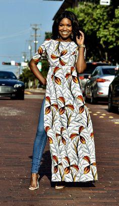 African Print Dresses, African Fashion Dresses, Fashion Outfits, African Dress Styles, African Prints, African Style, African Print Skirt, Ankara Fashion, Ankara Styles