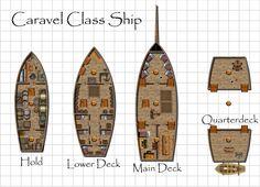 Dundjinni Mapping Software - Forums: New Caravel (Sailing) Ship!
