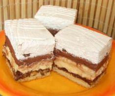 Kinder Bueno süti | Mindmegette.hu Bueno Cake, Tiramisu, Bacon, Ethnic Recipes, Food, Essen, Meals, Tiramisu Cake, Yemek