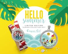 Origami Owl. Take a look at the Summer 2017 collection for Canada.  CharmingLocketsByAline.OrigamiOwl.com