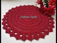 Crochet Leaf Patterns, Crochet Bedspread Pattern, Crochet Doily Rug, Crochet Placemats, Crochet Cross, Doily Patterns, Thread Crochet, Diy Crochet, Crochet Designs