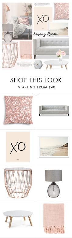"""Pink And Grey"" by makeupgoddess ❤ liked on Polyvore featuring interior, interiors, interior design, home, home decor, interior decorating, Charter Club, xO Design, Surya and Chanel"