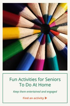 If you're caring for a senior at home, we know it may be difficult to keep them entertained and engaged. But do not fear! Thanks to some excellent sources out there, we found tons of activities you can do with your loved one. Elderly Activities, Fun Activities, Aging Parents, Done With You, Puzzles, First Love, Hobbies, Entertaining, Canning