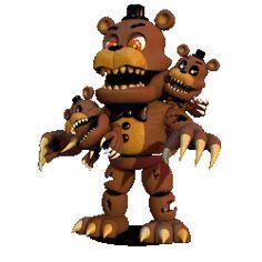 Fnaf world: nightmare Freddy