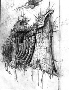 Battlefleet Gothic by *EnviousV on deviantART
