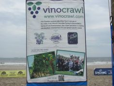 VIno Crawl! Long Beach Sponsor - fun time!