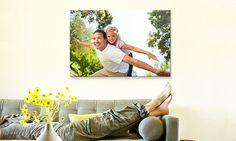 Custom Canvas Photo Prints - Fabness   Groupon