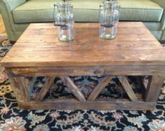 Artisan Farmhouse Coffee Table