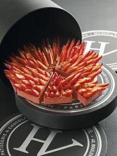 Tarte aux fraises «façon part»