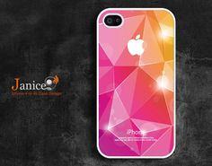 iphone 4 protector verizon iphone 4 case iphone 4s case iphone 4 cover pink seamed edge image unique Iphone case design. $13.99, via Etsy.