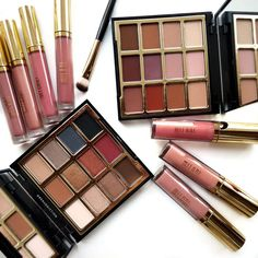 New Milani Product Review - Eyeshadow Palettes, Amore Shine Lipsticks, Plumping Glosses