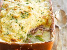 Découvrez la recette Poireaux au jambon à la béchamel sur cuisineactuelle.fr.
