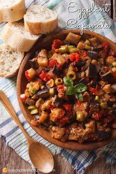 Vegetable Dishes, Vegetable Recipes, Vegetarian Recipes, Healthy Recipes, Healthy Eggplant Recipes, Medeteranian Recipes, Cooking Recipes, Party Recipes, Sicilian Recipes