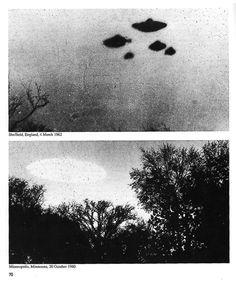 England and Minneapolis UFOs