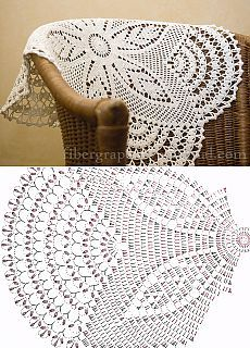 Bildergebnis für mandalas tejidos al crochet patrones Filet Crochet, Crochet Diagram, Crochet Chart, Thread Crochet, Irish Crochet, Crochet Stitches, Crochet Table Runner Pattern, Crochet Doily Patterns, Crochet Tablecloth