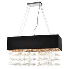 6 Light Pendant Bubbles Collection shown in Polished Chrome by PLC Lighting - 96927