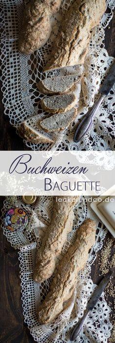 Buchweizen Dinkel Baguette   Vollkorn