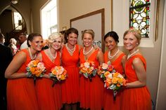 #orangewedding