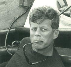 JFK on board of Carodina.