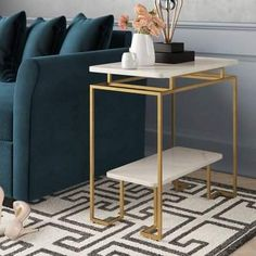 Willa Arlo Interiors Marianne End Table Painted Bedroom Furniture, Metal Furniture, Home Decor Furniture, Table Furniture, Furniture Design, Furniture Online, Furniture Makeover, Office Furniture, Outdoor Furniture