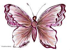 SCHITE FLUTURI | Adelina Mărieş - design Artist, Artwork, Plants, Design, Painting, Work Of Art, Painting Art, Flora, Paintings
