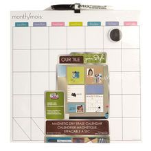 the board dudes white erasable magnetic calendar board
