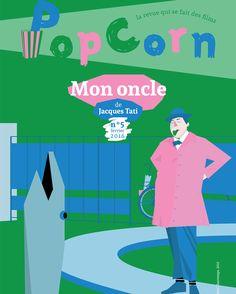 Revue PopCorn n°5 dédiée à Jacques Tati | ☞ Plus de contenu sur www.milkmagazine.fr
