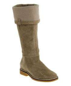 Look what I found on #zulily! Taupe Cerise Catelyn Suede Boot #zulilyfinds