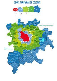 Visita Colonia!|Transporte público en Colonia y sus zonas