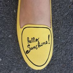 It's the Chance Greeting Flat, shared by 'lovedagain_closet'. Fab Shoes, Me Too Shoes, Hello Sunshine, Mellow Yellow, Types Of Shoes, Shoe Game, Playing Dress Up, Modcloth, Just In Case