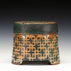 Schaller Gallery : Exhibition : Shino for Christmas - S H I N O : Peter Karner : Oval Box