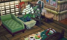 ✿ Animal Crossing New Leaf ✿ Animal Crossing Wild World, Animal Crossing Pocket Camp, Animal Crossing Qr, Ac New Leaf, Photo Deco, Happy Home Designer, Animal Games, Cool Rooms, Decoration