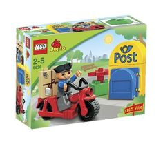 LEGO Duplo Legoville Postman (5638) -- Click image for more details. (This is an affiliate link)