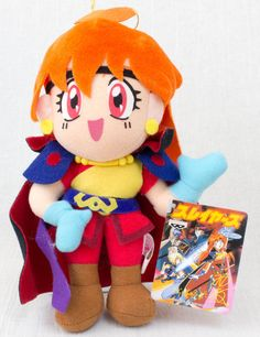 Slayers Lina Inverse Plush Doll Figure Banpresto JAPAN ANIME MANGA