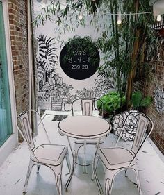 Home Decorating Tips And Tricks Cafe Interior Design, Cafe Design, Interior Decorating, Interior Shop, Decorating Tips, Floral Arch, Outdoor Furniture Sets, Outdoor Decor, Home Room Design