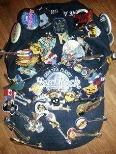 Hard Rock Cafe Pin Konvolut