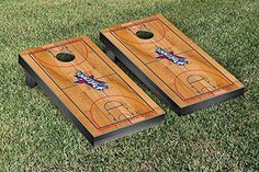Francis Marion Patriots Cornhole Game Set Basketball Court Version *** You can get additional details at the image link.