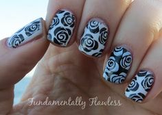 Fundamentally Flawless: Black and white roses with MoYou Pro Collection XL 07