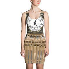 Big Ben Sublimation Cut & Sew Dress London Clock