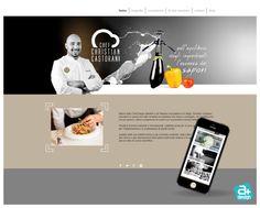 Sito web realizzato per il Maestro Chef Christian Castorani