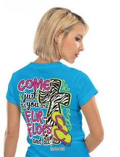 Come as You Are- Flip-Flops and All - T-Shirt - JTbliss